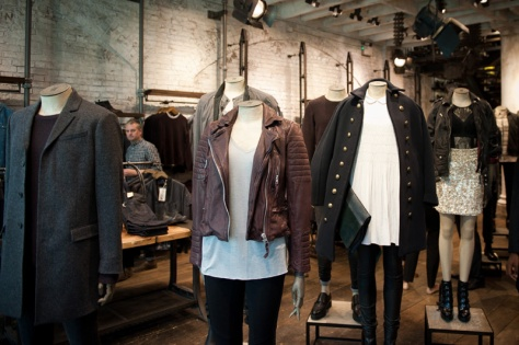 Leather Jacket Store Photo